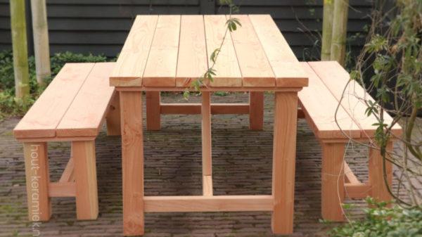 bank en tafel model Steef