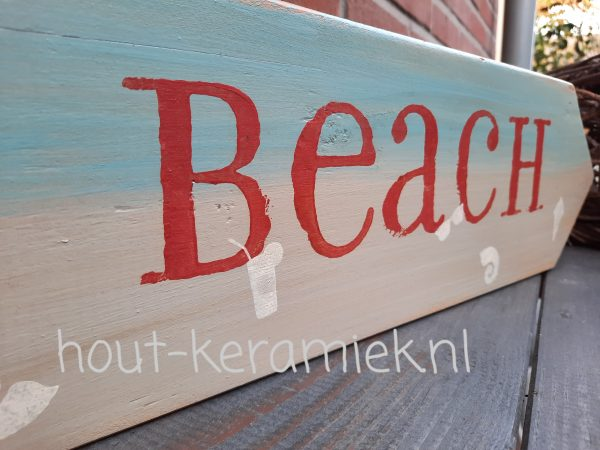 strandborden wegwijsborden