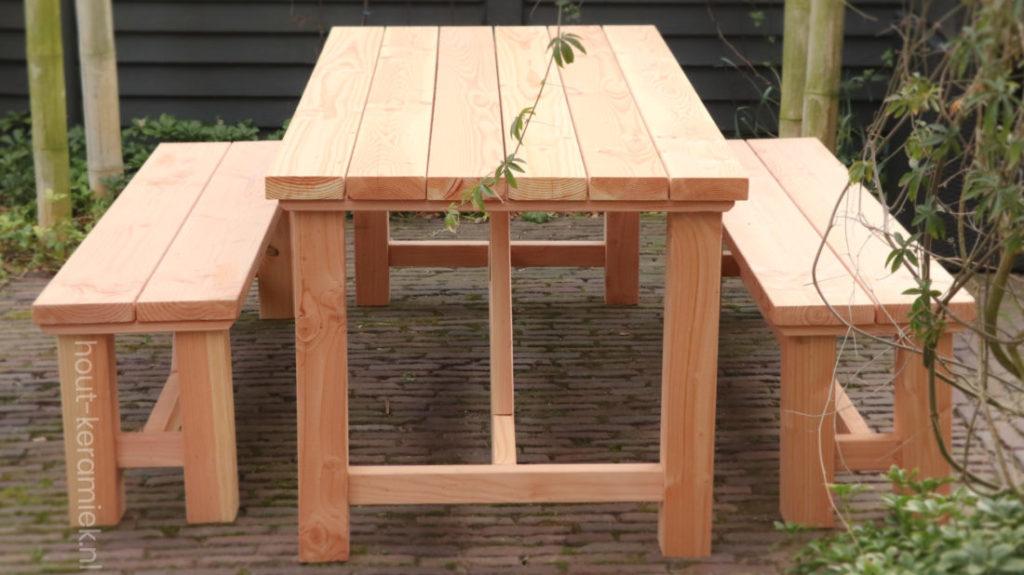 picknickset model Revelstoke korte zijde